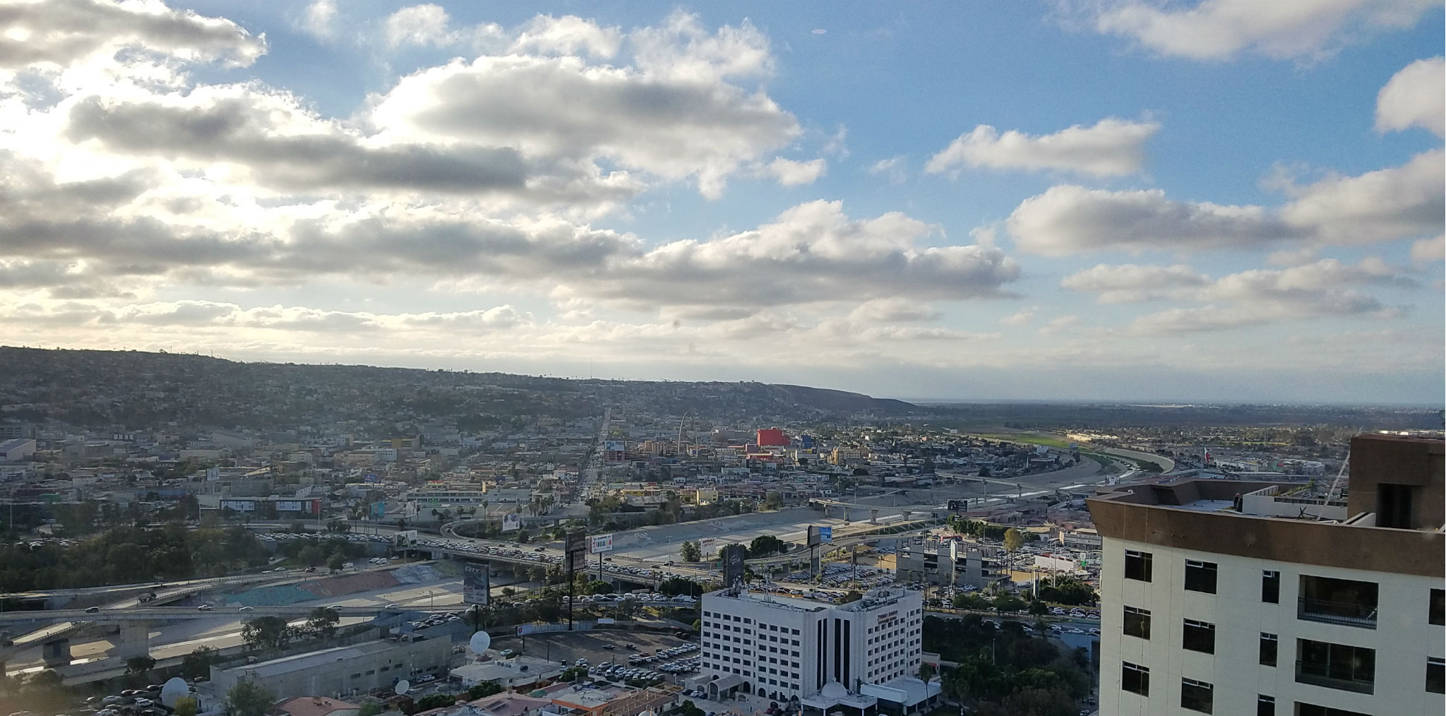 Downtown Tijuana from the Towers
