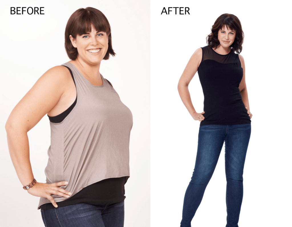 Before and After Weight Loss Transformation-min