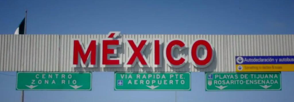 border entering tijuana mexico for gastric sleeve
